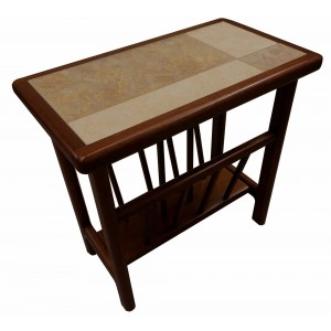 Anbercraft Tiled Top Magazine Table