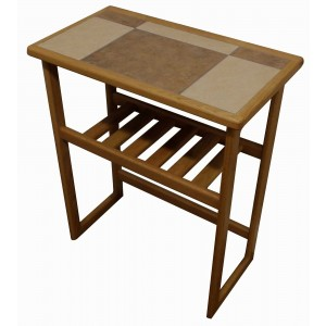 Anbercraft Tiled Top Hall Table