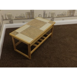 Anbercraft Tiled Top Coffee Table