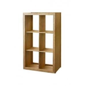 Warwick Oak WN813 Wide Bookcase