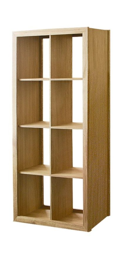 Warwick Oak WN817 Tall Wide Bookcase