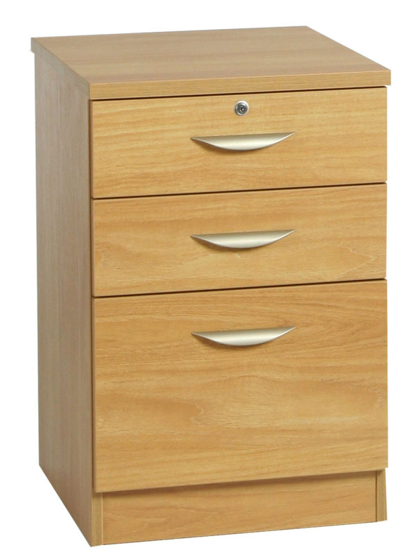 B-3CU 3 Drawer Filing Cabinet Combination