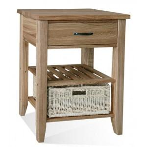 Warwick Oak WN33 Single Basket Table