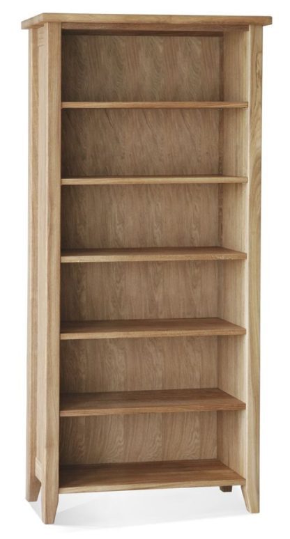 Warwick Oak WN161 Tall Bookcase-0