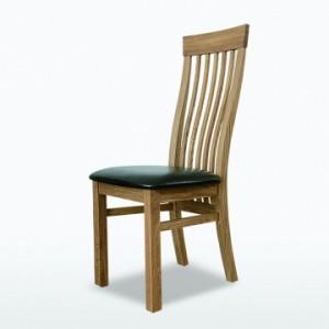 Warwick Oak WN63s Swell Chair Leather Seat-0