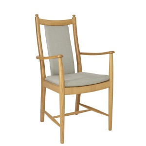 ercol 1128A Penn Padded Back Dining Armchair