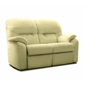 G Plan Mistral Leather 2 Seater Sofa
