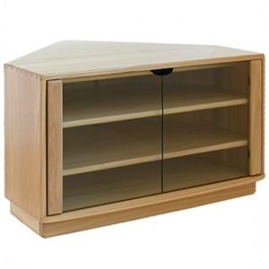Ercol Windsor 3833 TV Corner Cabinet-0