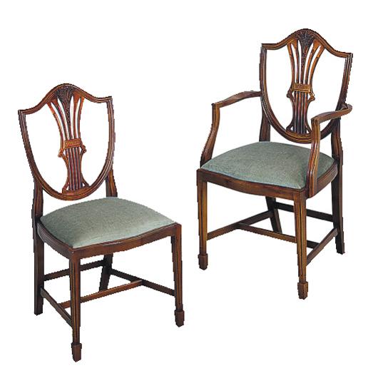 Bradley Mahogany 312 Wheatear Dining Chair-41881