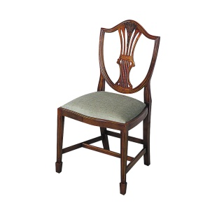 Bradley Mahogany 312 Wheatear Dining Chair-0