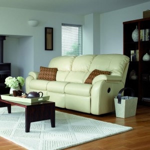 G Plan Mistral 3 Seater Sofa in leather