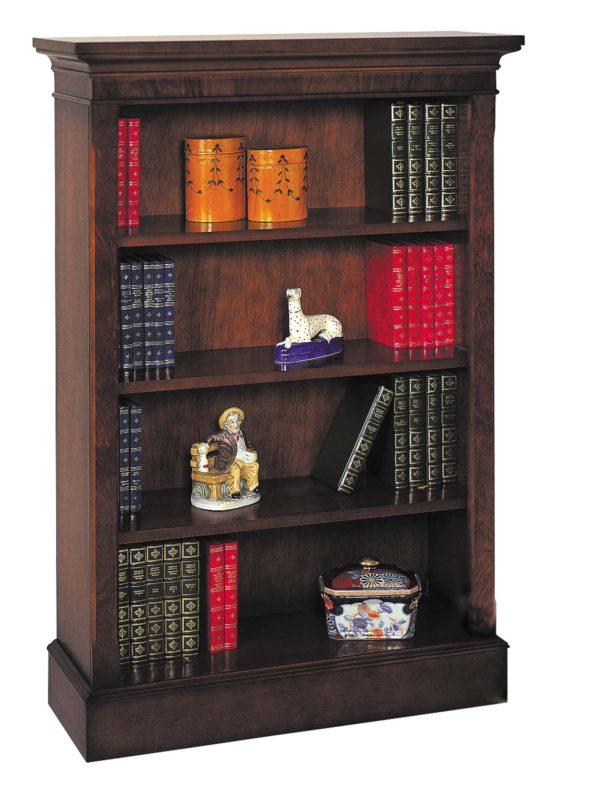 Bradley Mahogany 913 Bookcase-0