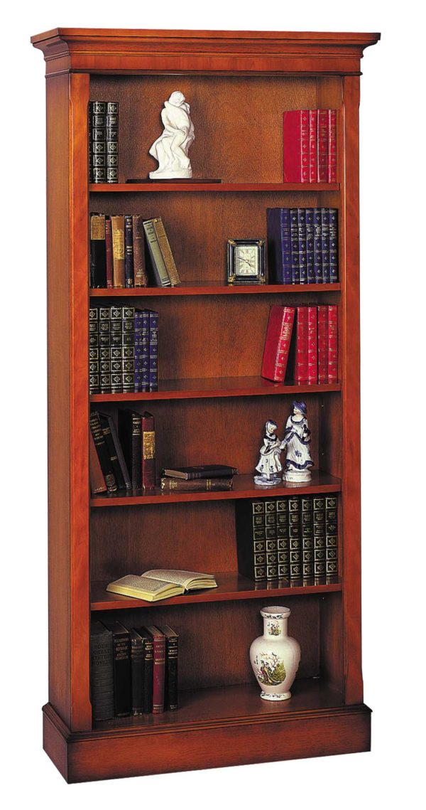 Bradley Mahogany 914 Tall Bookcase-0