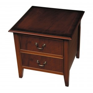 Bradley Mahogany 955 2 Drawer Lamp Table-0