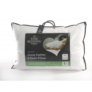 Fine Bedding Goose Feather & Down Pillow-0