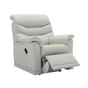 G Plan Malvern Leather Recliner Armchair