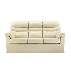 G Plan Malvern Leather 3 Seater Sofa