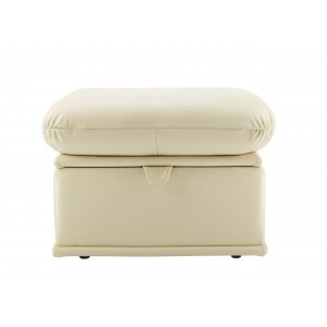 G Plan Malvern Leather Storage Footstool