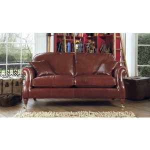 Parker Knoll Westbury Grand Sofa in Leather-0