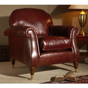 Parker Knoll Westbury Chair in Leather-0
