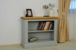 Cello Oak/Painted CL507 Small Bookcase-16756