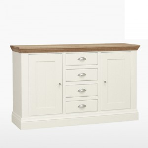 Cello Oak/Painted CL501 Medium Sideboard