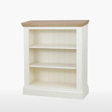Cello Oak/Painted CL508 Medium Bookcase-0