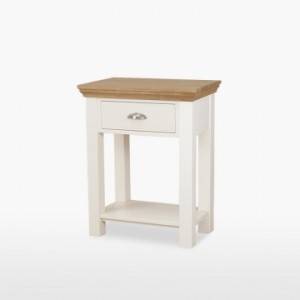 Cello Oak/Painted CL107 Small Hall Table-0