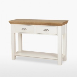 Cello Oak/Painted CL108 Large Hall Table-0