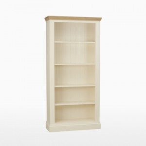 Cello Oak/Painted CL510 Tall Bookcase-0