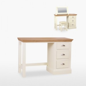 Cello Oak/Painted CL820 Dressing Table-0