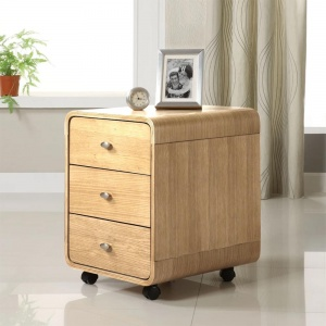 Poise 3 Drawer Chest in Oak