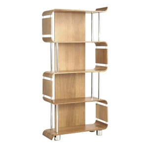 Poise Bookcase in Oak