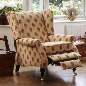 Parker Knoll York Wing Chair Manual Recliner