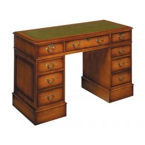 Bradley Mahogany 666 Pedestal Desk-0