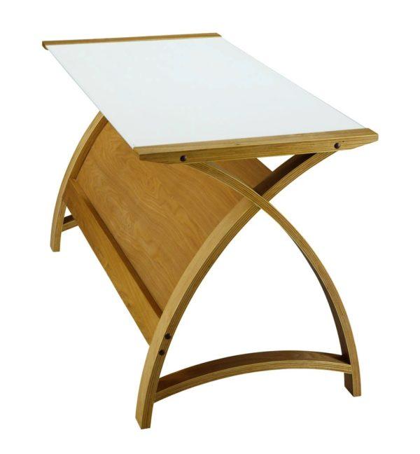 Poise Laptop Table in Oak