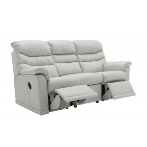 G Plan Malvern 3 Seater Double Recliner Sofa
