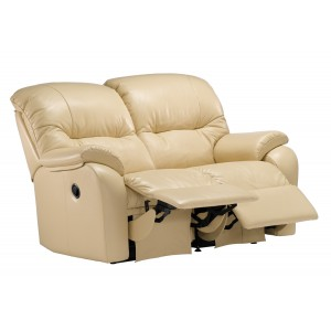 G Plan Mistral 2 Seater Recliner Sofa in leather