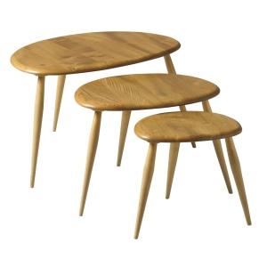 Ercol Originals 7354 Nest of Tables-0