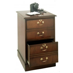 Bradley Yew 892 2 Drawer Filing Cabinet-0