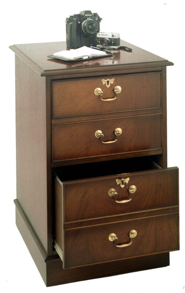 Bradley Yew 892 2 Drawer Filing Cabinet-0