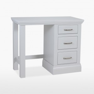 Cello Painted CL820 Single Pedestal Dressing Table-0