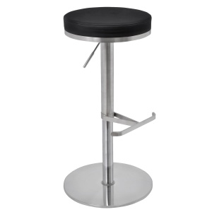 Biarritz Bar Stool in black