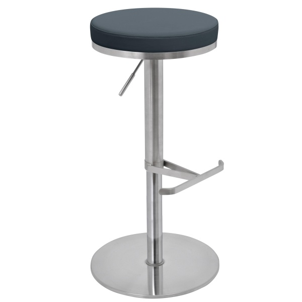 Biarritz Bar Stool in grey