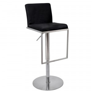 Cadiz Bar Stool in black
