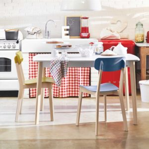 Calligaris Cream Dining Table and Chairs