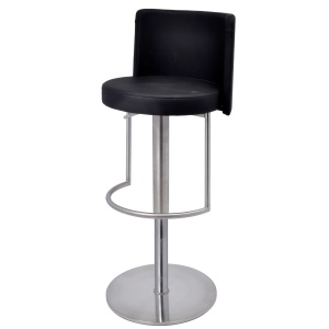 Monza Bar Stool in black