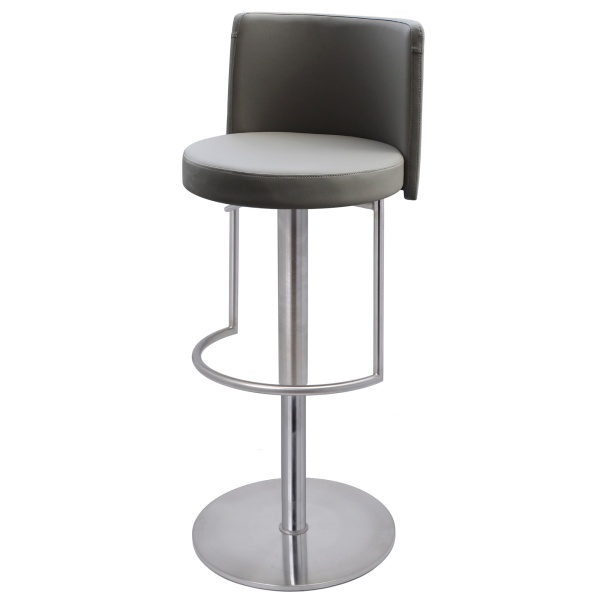 Monza Bar Stool in taupe