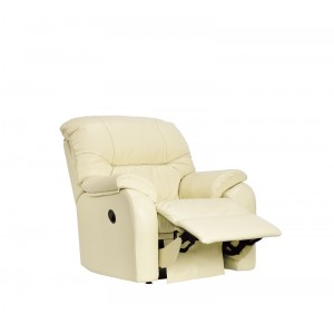 G Plan Mistral Recliner Armchair in leather