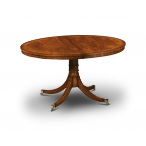 Iain James W161 Oval Stowaway Extending Dining Table-0